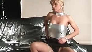 Amazing blonde whore on the casting