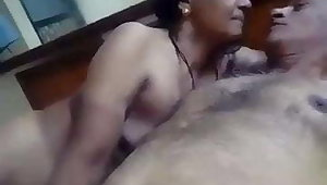 old uncle and desi aunt having a sexy fun